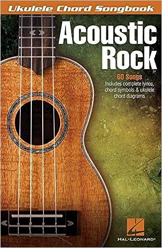 Amazon Acoustic Rock Ukelele Chord Songbook 0884088589790