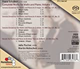 Schubert- Complete Works for Violin and