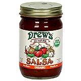 Drew's All-Natural Organic Salsa, Medium, 12-Ounce Jar