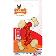 Nylabone Power Chew DuraChew Double Bone Bacon Dog Chew Toy, X-Small