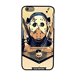 JUJEO iPhone 6 Plus 5.5-Inch Plastic Hard Cover Case - Non-Retail Packaging - Poker Spade A