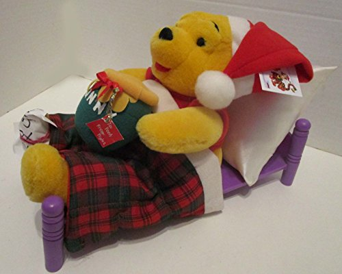 Winnie The Pooh In Bed Telco Motion-ette Animated Christmas Display Figure (Winnie The Pooh Animated Christmas Display Figure)