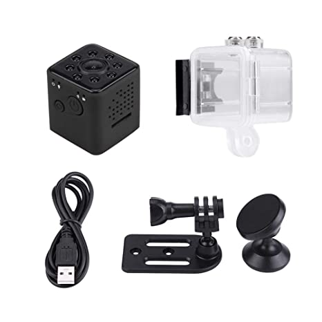 Elerose Mini cámara WiFi, cámara SQ23 1080P HD Detección de Movimiento Cámara DVR Oculta Cámara