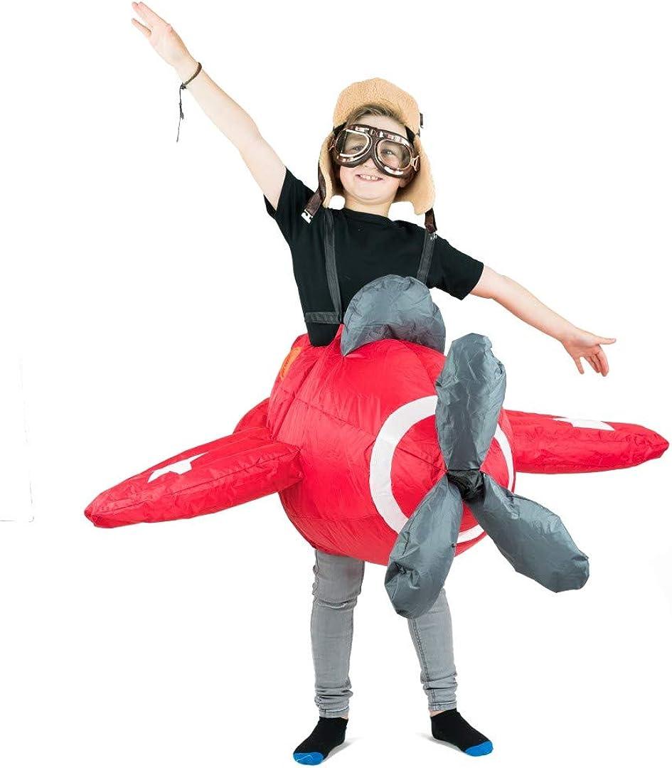 Amazon.com: Bodysocks niños inflable disfraz de avión: Clothing