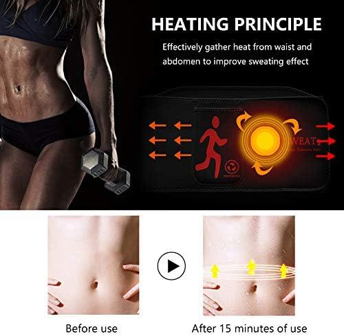 NOSUBO Sweat Waist Trainer Belt, Waist Trimmer with Pockets for Men & Women for Weight Loss 2