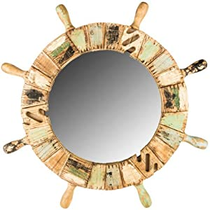 515OjMHP8kL._SS300_ Nautical Themed Mirrors