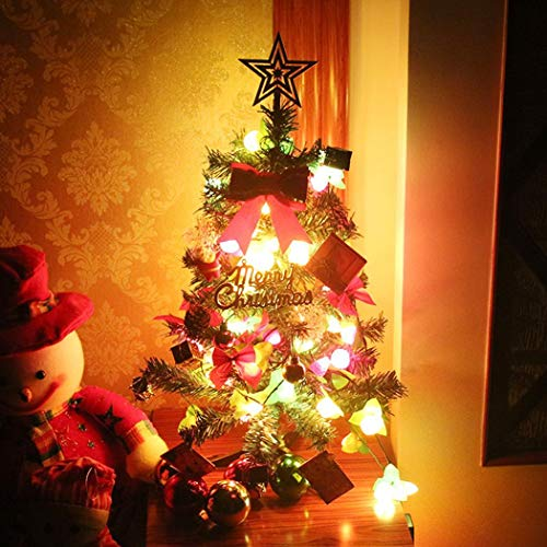Gfone 60 cm LED Bolas de luz Árbol de Navidad Fiesta en casa Festival DIY Decoración Adornos: Amazon.es: Hogar