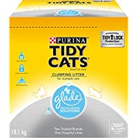 Tidy Cats Clumping Cat Litter; Glade Scented - 18.1 kg Box