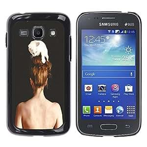 Dragon Case - FOR Samsung Galaxy Ace 3 - hooked for life - Caja protectora de pl??stico duro de la cubierta Dise?¡Ào Slim Fit