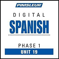 Spanish Phase 1, Unit 19