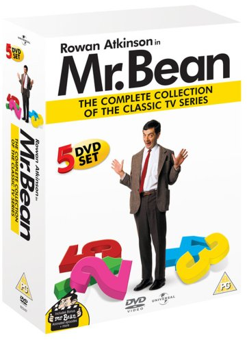 Mr Bean Live Series 1 5 5 Dvd Box Set Uk Import Amazonde Mr
