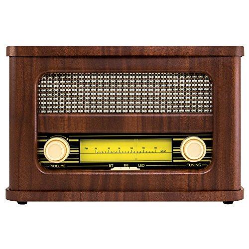 ART+SOUND AR3002 Bluetooth Speaker Vintage Retro Radio