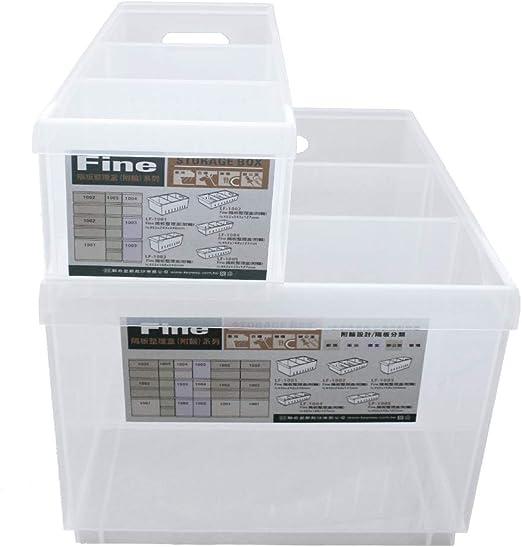 OC ORDEN EN CASA Y MUCHO MAS Caja Transparente con separadores 45 ...