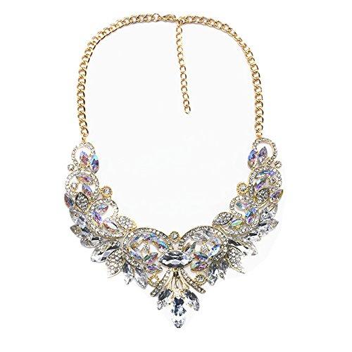 Collar Choker Necklace Handmade Statment Costume Jewelry For Party Use (Handmade Costume Jewelry)