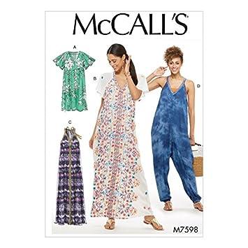 McCall \'s Damen Einfache Schnittmuster 7598 sehr eng Kleider und ...
