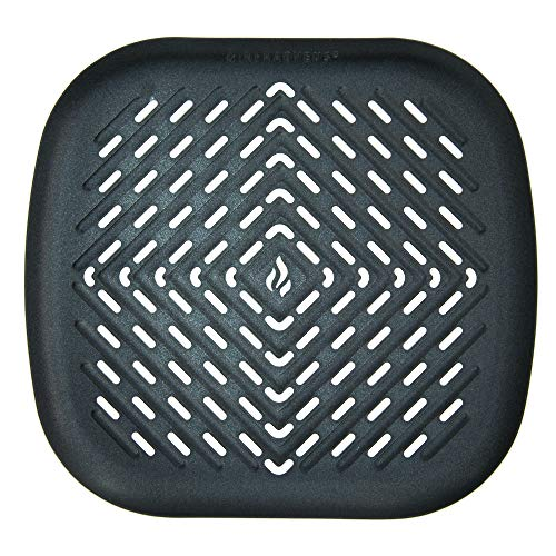 XL Air Fryer Grill Pan Oven Accessory Compatible with Phillips Airfryer HD9240, Walita, Power AirFryer Oven, NuWave Brio, Cozyna, Chefman, Harbor, Tidylife, Chef di Cucina +More by Infraovens | Large to X-Large