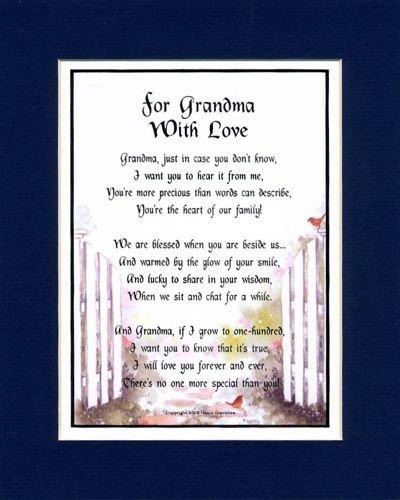 A Birthday Present For A Grandmother. #28, Grandma Poem