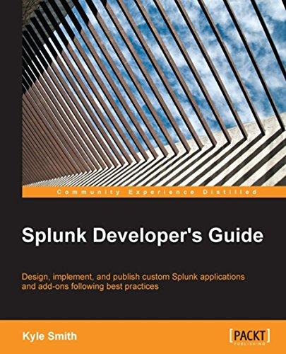 Download Splunk Developer's Guide Pdf