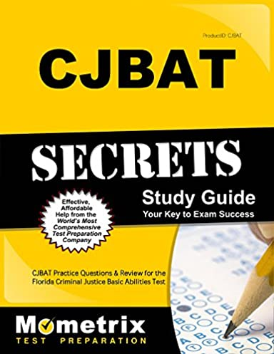 cjbat secrets study guide cjbat practice questions and review for rh amazon com Parking Lot Parking Enforcement Officer Cartoons