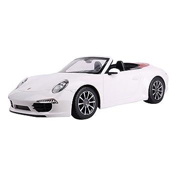RASTAR Porsche 911 Carrera Escala 1:12 Modelismo Con Mando a Distancia Modelo a Escala Color Blanco: Amazon.es: Juguetes y juegos