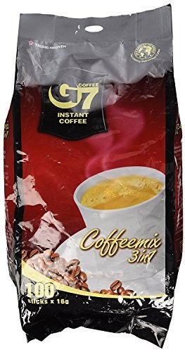G7 3-in-1 The Original Instant Premium Vietnamese Coffee, 100 Servings/Sachets by Trung Nguyen