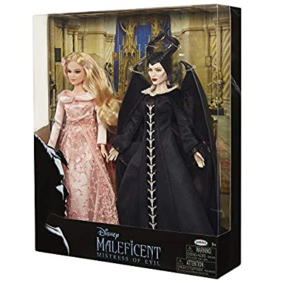 Disney Maleficent 2: Mistress of Evil - Aurora & Maleficent Collectible Two Doll Set, 11.5