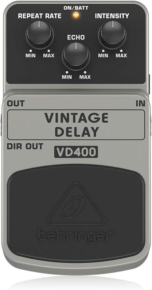 Rowin Analog Vintage Delay Guitar Effect Pedal