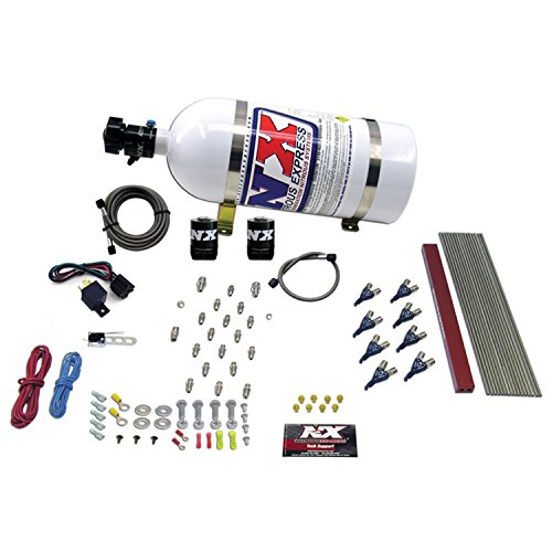 Ls1 Nitrous Kit (Nitrous Express 80010-10 50-300 HP Pro EFI Direct Port System with 10 lbs. Bottle for 8-Cylinder LT1 and LS1 Engines)