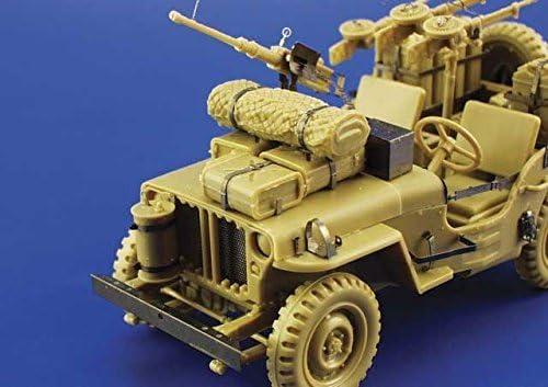 - Edp35797-135 Tamiya Tamiya Eduard Photoetch 1:35 Willys Jeep SAS