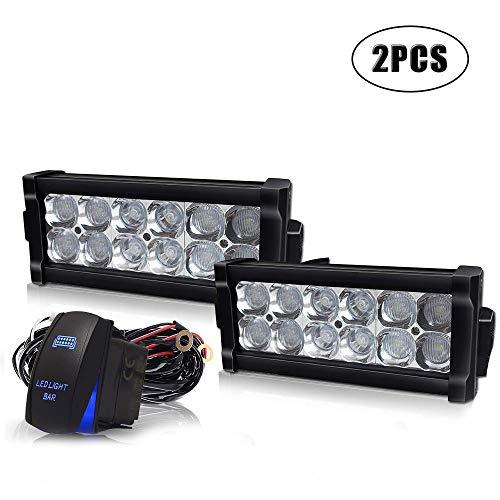 Truck Wiring Pickup - Led Light Bar Spead-Vmall 2PCS 7