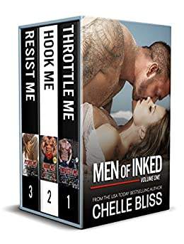 Men of Inked Books 1-3 by [Bliss, Chelle]