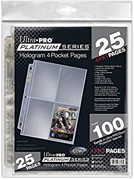 30 x ULTRA PRO 2 POCKET PLATINUM SERIES SLEEVES 5 X 7 PHOTOS POST CARDS PAGES