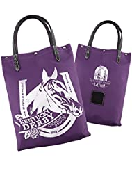 2015 Kentucky Derby 141 Officially Licensed Tote Bag Churchill Downs Racehorse Motif