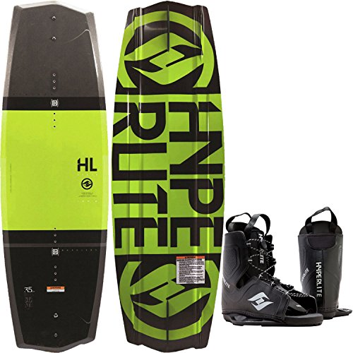 Hyperlite State 2.0 Yellow Wakeboard Mens 135cm Bindings O/S 8-12