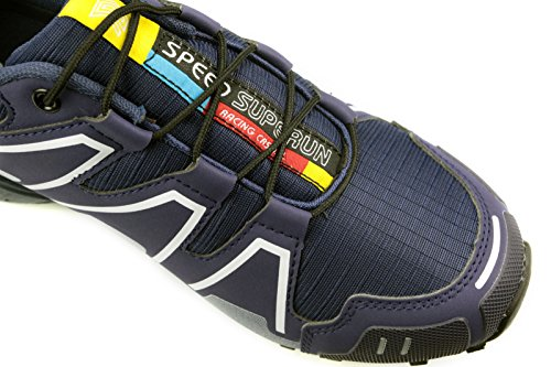 SUPERUN Herren Sneaker Laufschuhe Sportschuhe Turnschuhe 6208 Royal
