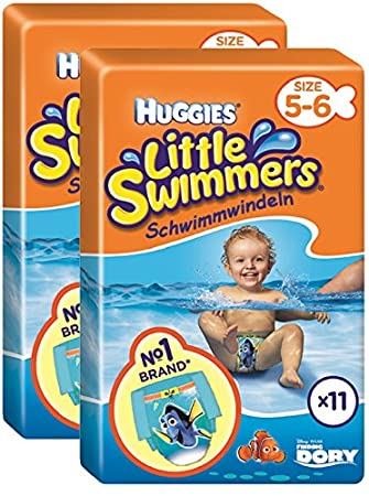 Huggies Little Swimmers Schwimmwindeln Gr56 2er Pack 2 X 11