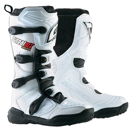 7 Boot Pilot (O'Neal Element Men's Boot (White, Size 7))