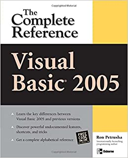 Visual Basic 2005: The Complete Reference (Complete Reference Series)