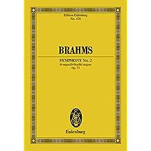 Symphony No. 2 D major: Op. 73 (Eulenburg Studienpartituren)