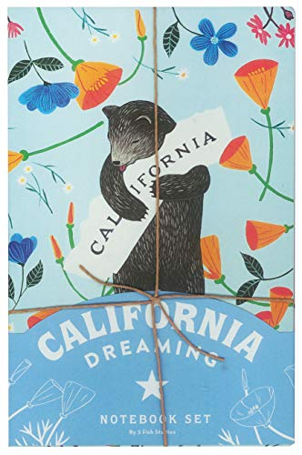 California Dreaming Notebook Set (California Gifts, Notebook Collection, Journal Set) ()