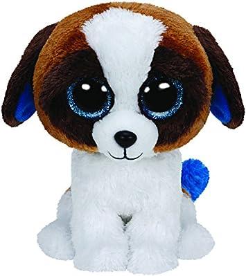 TY - Duke, peluche perro San Bernardo, 23 cm, color blanco y marrón (37012TY) , color/modelo surtido: Amazon.es: Juguetes y juegos