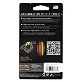 """Nite Ize GT3-4PK-A1 3"""" Gear Tie Assorted Colors 4"""