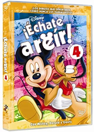 Echate A Reir Con Mickey Vol 4 (Import Movie) (European Format - Zone