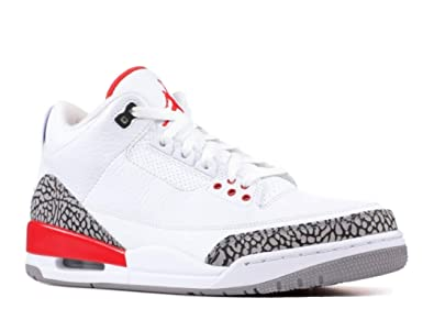 good 86bf9 ccb7b AIR Jordan 3 Retro  Katrina  - 136064-116 - Size 11.5-UK  Amazon.co.uk   Shoes   Bags