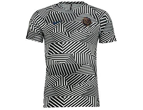 2016-2017 PSG Nike Pre-Match Training Shirt (White-Black)