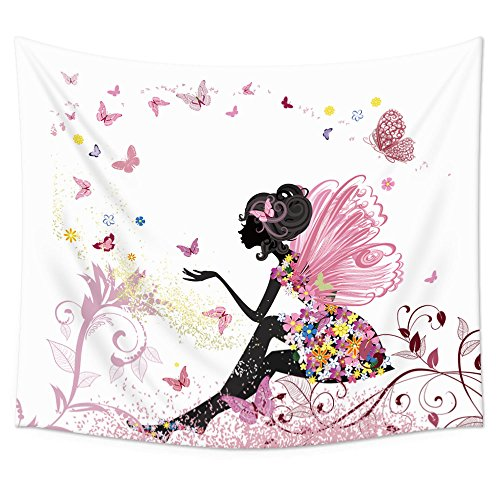 Uphome Trendy Butterfly Tapestry Hanging