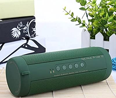 Bluetooth Speaker,Autvivid Bluetooth Portable Wireless Speaker with LED SOS Lighting Waterproof Dustproof for Outdoors Indoor Entertainment (Green) by autvivid