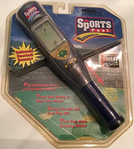 Retro Tiger Electronics Handheld Sports Feel Baseball LCD Game New old Stock