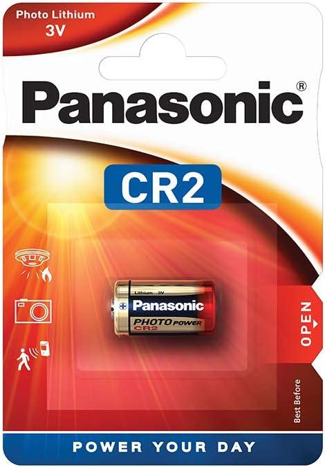 Panasonic batteries CR-2L/1BP - Pilas (3 V, Li-ion, 850 mAh)
