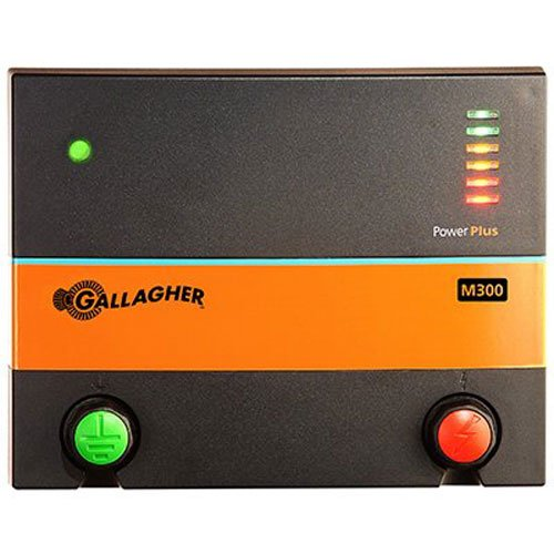 Fence Gallagher Electric (Gallagher G380504 M300 Fencer, 110-volt)
